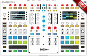 Native Instruments Kontrol S8 Caps & Skinz Kit - Colors