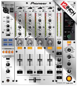 Pioneer DJM-850 Skinz - Metallics