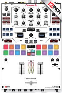 Pioneer DJM-S9 Skinz - Colors
