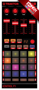 Native Instruments Kontrol F1 Caps & Skinz Kit - Colors