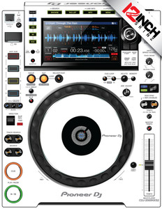 Pioneer CDJ-2000NXS2 Skinz (PAIR) - COLORS