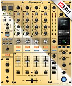 Pioneer DJM-900NXS2Skinz - Metallics