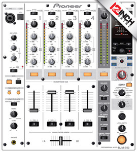 Pioneer DJM-750 Skinz - Colors