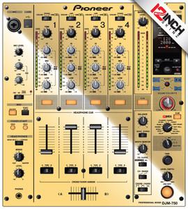 Pioneer DJM-750 Skinz - Metallics
