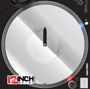 Serato Control Vinyl (PAIR) - Chrome Mirror