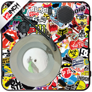 Numark PT-01 Turntable Skinz - Stickerbomb
