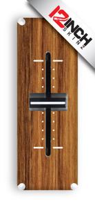 Mixfader Skinz (pair)- Hydro Wood