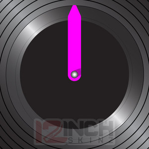 Control Vinyl Labels - BLACKOUT w/ Neon Q-MARQ (set of 4)