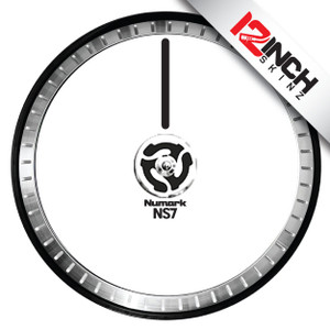 Numark NS7ii / Ns7iii Platter Skinz (PAIR) - COLORS