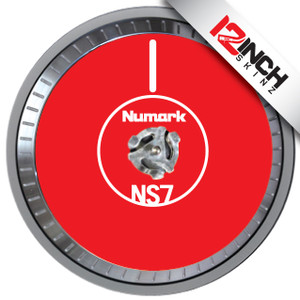 Numark NS7 MK1 Platter Skinz (PAIR) - COLORS