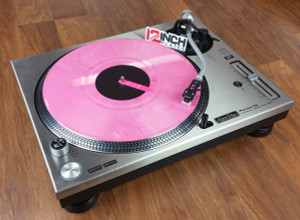 Pioneer PLX-1000 Stainless Steel Plates (Pair) - PERSONALIZED LIMITED EDITION