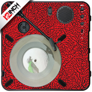 Numark PT-01 Turntable Skinz - Dunk Colors