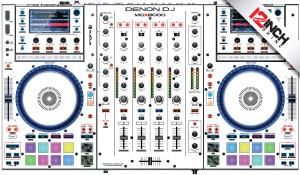 Denon MCX8000 Skinz - Colors