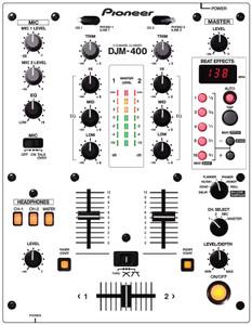 Pioneer DJM400- White