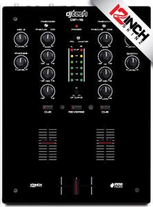 DJ TECH DIF1S black MAGNETIC - SALE
