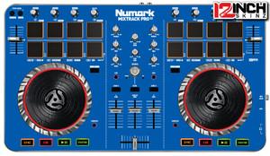 Numark mix trk pro2 blue ADHESIVE - - SALE
