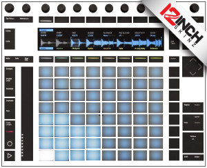 Akai Push 2 Skinz - COLORS