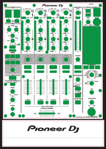 Pioneer DJM-900NXS2 Skinz- CUSTOM