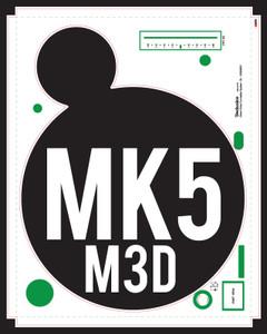 Technics SL-1200 MK5 / M3D Adhesive Skinz (PAIR) - CUSTOM