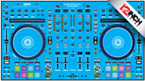 Denon MC7000 Skinz - Colors