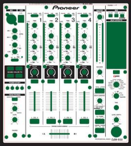 Pioneer DJM-850 Skinz - Custom