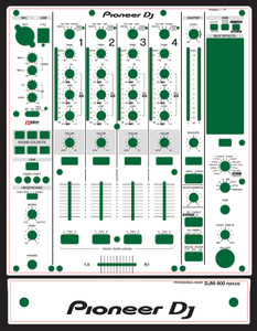 Pioneer DJM-900nexuss Skinz - Custom