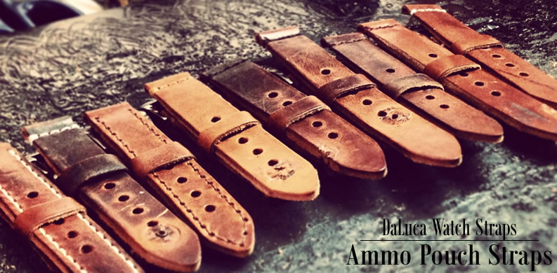 DaLuca Vintage Swiss Ammo Pouch Watch Straps