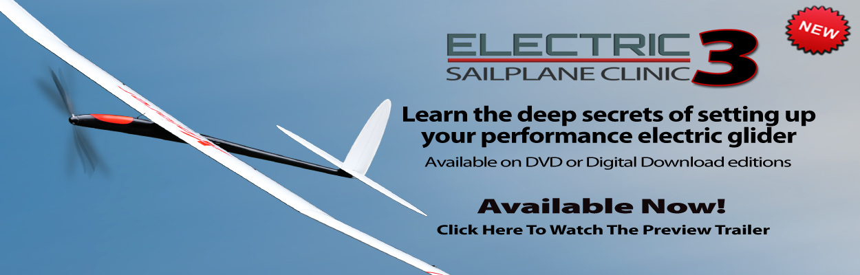 Electric Sailplane Clinic 3 Training Video