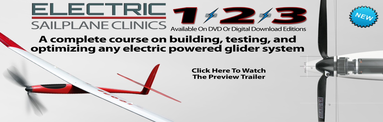 Electric Sailplane Clinic Video Set