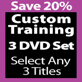 Custom 3 DVD Set