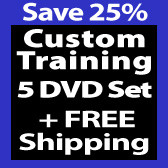 Custom 5 DVD Set With FREE Shipping
