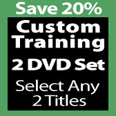 Custom 2 DVD Set