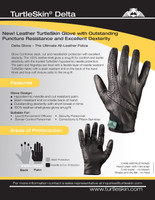 TurtleSkin DELTA Search/Duty Gloves