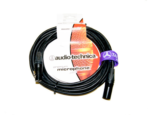 Audio Technica AT8314 Premium XLR Microphone Cable - 100 ft.