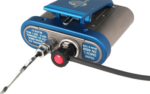 """Cable Techniques 10"""" Low-Profile XLR-3F to TA5F Lectro """"Camera Hops"""" Cable"""