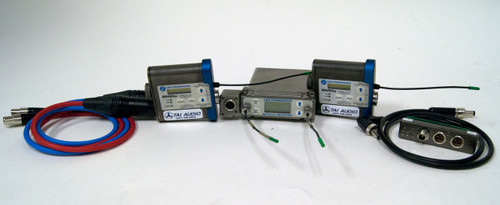 Used Lectrosonics SRA/5P Dual Channel Receiver & (2) SMDa Transmitters - Block 25 w/ SREXT Adapter & Cables