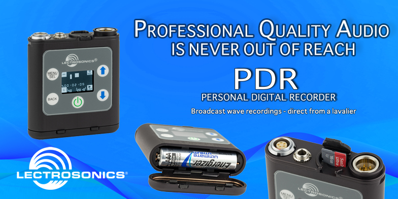 The Lectrosonics PDR