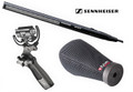 Sennheiser MKH416 P48U3 Short Shotgun Microphone Package