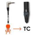 Tentacle Sync C04 Tentacle to XLR Time Code Cable 3.5mm- XLRM