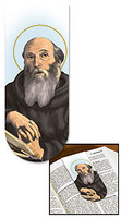 Saint Benedict Magnetic Bookmark with Prayer
