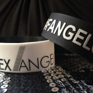 Black and White Wristbands