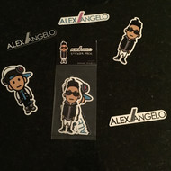 Alex Angelo Sticker Set