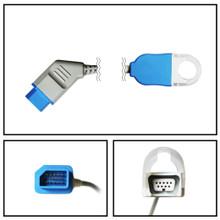 Nihon Kohden 14 Pin to Non-OxiMax DB9 SpO2 Extension Cable
