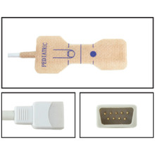 BCI Pediatric Disposable SpO2 Sensor - Textile Adhesive (Box of 24)