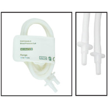 NiBP Disposable Cuff Double Tube  Neonate Size 3 (6-11cm) - TPU (Box of 10)