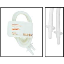 NiBP Disposable Cuff Double Tube  Neonate Size 1 (3-6cm) -  Soft Fiber (Box of 10)