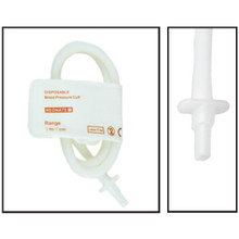 NiBP Disposable Cuff Single Tube Neonate Size 1 (3-6cm) - TPU (Box of 10)