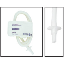 NiBP Disposable Cuff Single Tube  Neonate Size 4 (7-13cm) - TPU (Box of 10)