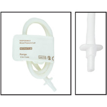 NiBP Disposable Cuff Single Tube  Neonate Size 5 (8-15cm) -  Soft Fiber (Box of 10)