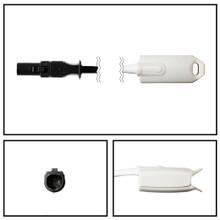 Baxter 10 ft. Adult Hard Shell Finger SpO2 Probe Sensor Hypertronic Connector Oximeter Pulse Oximetry